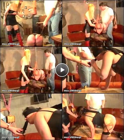 mature spank video